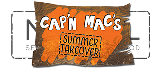 NUDEL - seasonally inspired food = CAP'N MAC SUMMER TAKEOVER